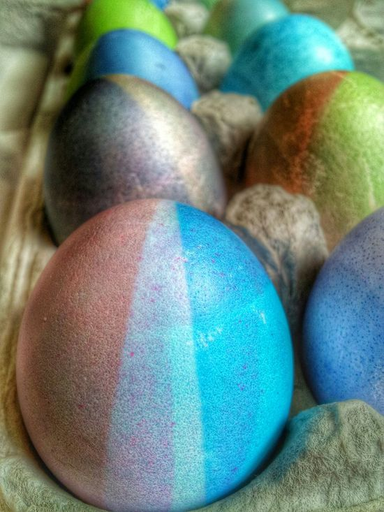 Colored Easter eggs close up Easter Easter Eggs Happy Easter Color Colors Color Photo Easter Egg Egg Shells Egg Egg Carton Colored Easteregg Close-up Closeup Close Up Eggshell Eggs Carton Selective Focusing Taking Pictures Editorial  Editorial Photography Colorful Food Up Close Easter Ready