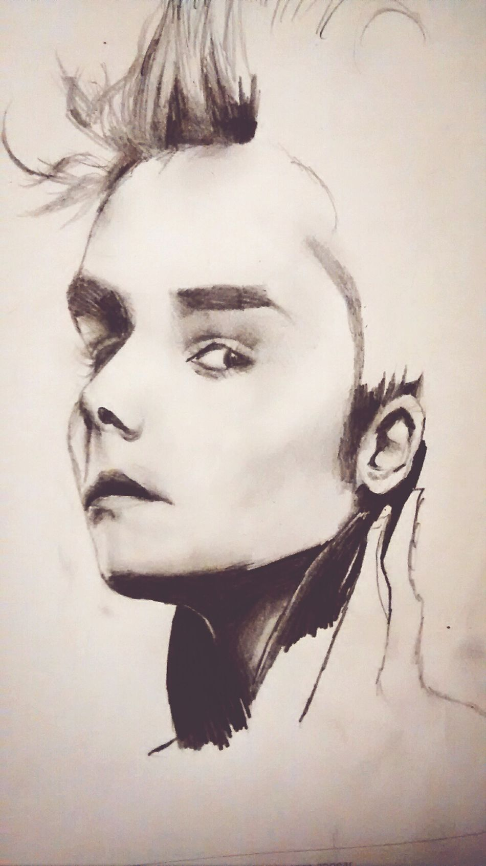 Gerard Way Musicians My Favourite Band. Work In Progress Art