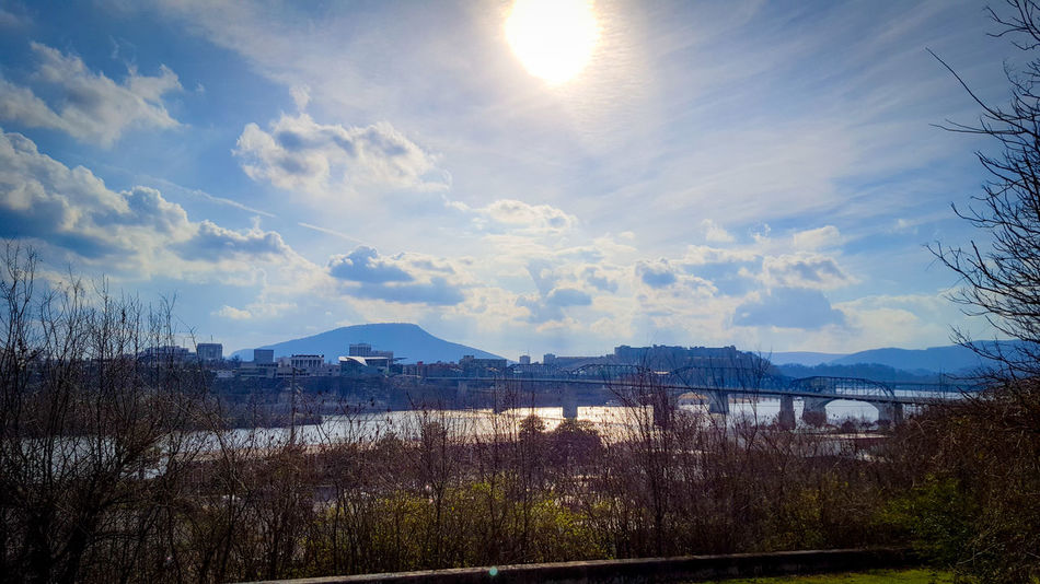 Sky Outdoors Scenics No People Nature Landscape Beauty In Nature Water Freshness Day EyeEmNewHere Chattanooga Chattanooga Tennessee Cloud - Sky Cityscape Cloudscapes Tennessee City Chattanooga's Horizon Over Land Urban Skyline Travel Destinations Lookout Mountain Tn Lookout Mountain Mountain