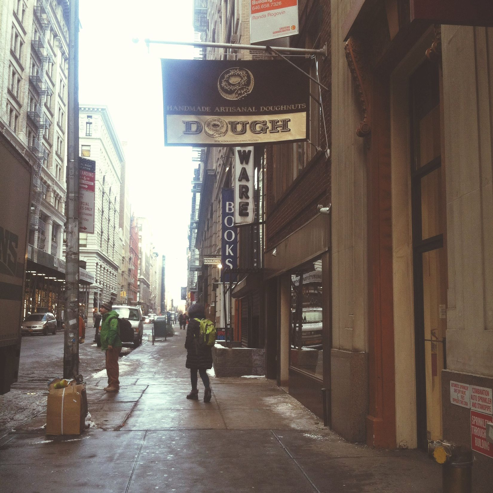 Urban Exploration Donuts City Eats NYC Flatiron