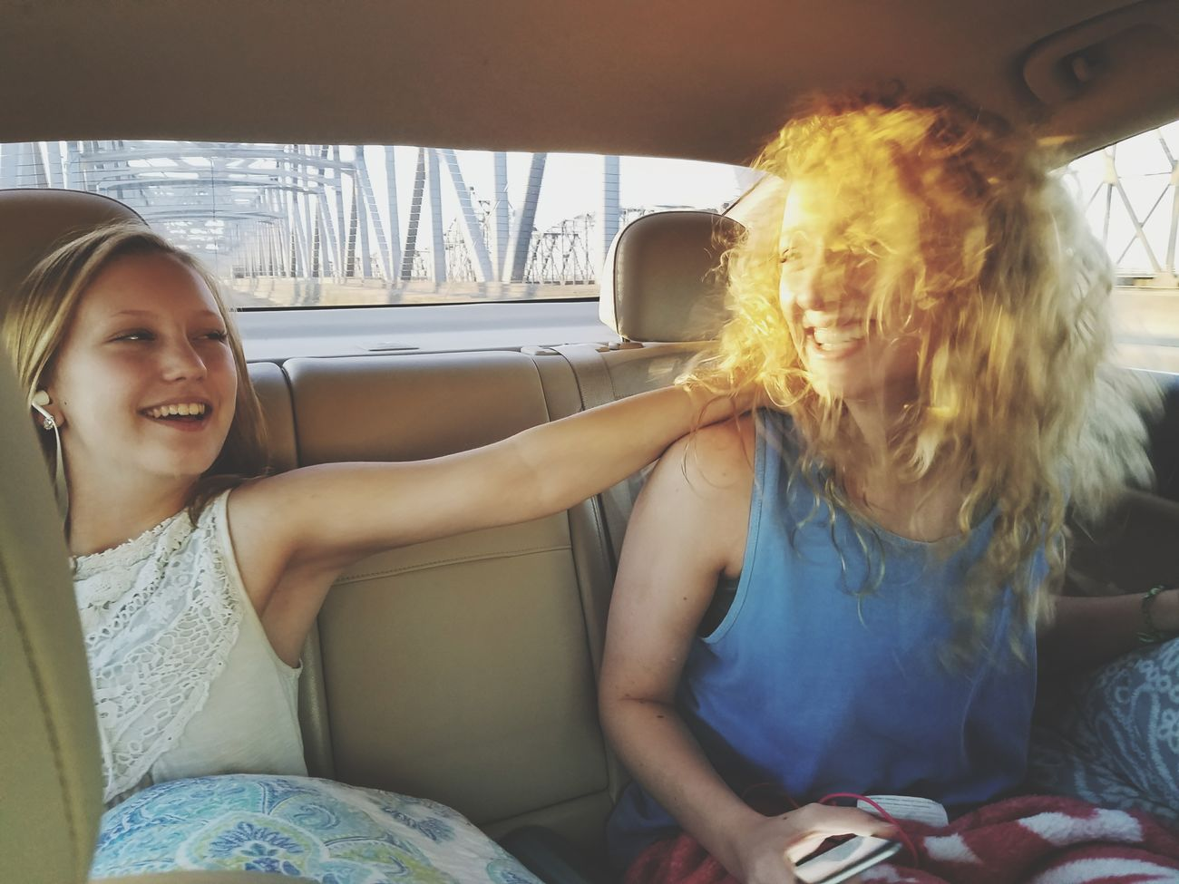 Friendship Togetherness Young Adult Sitting Young Women Carefree Car Travel Vacations Transportation Two People Adults Only Smiling Leisure Activity People Women Car Interior Adult Bonding Portrait
