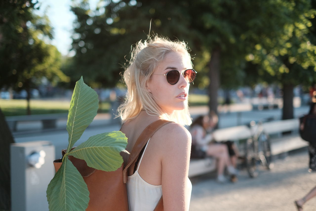 Beautiful Woman Blond Hair Breslau Close-up Day Explore Fashion One Person One Young Woman Only Outdoors People Real People Sun Sunglasses Sunlight Sunny Day Sunset Travel Traveling Tree Young Adult Young Women The Portraitist - 2017 EyeEm Awards