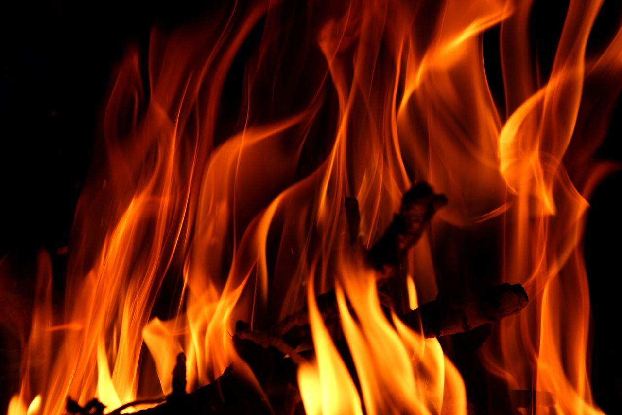 Beautiful stock photos of fire, Black Background, Burning, Close-Up, Fire - Natural Phenomenon