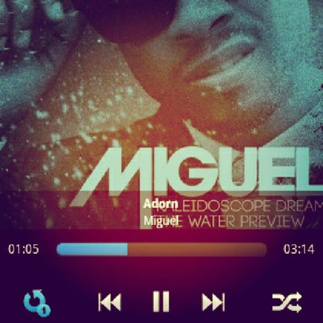 Miguel Jontel Adorn Best  KaleidoscopeDream KD You Tonight Lady Love Heart Crazy Repeat