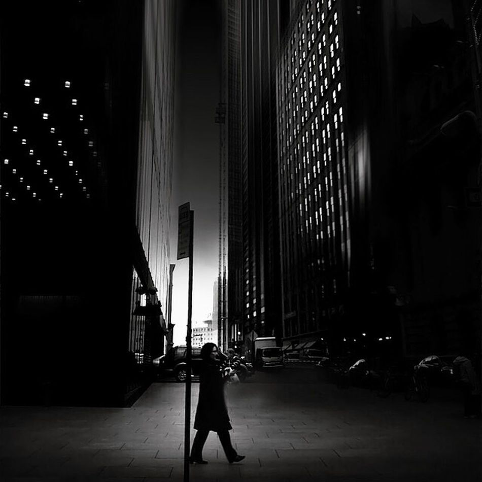 Blackandwhite Buildings Ligjt And Shadow AMPt - Vanishing Point Streetphotography Shootermag