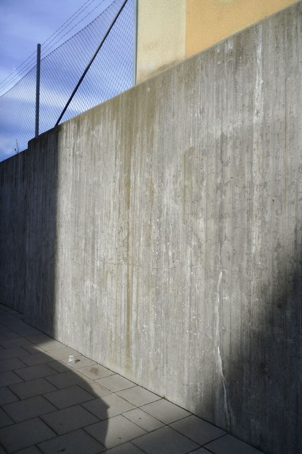 Shadows on Barnängsgatan Södermalm Concrete Lines Plastic Cup