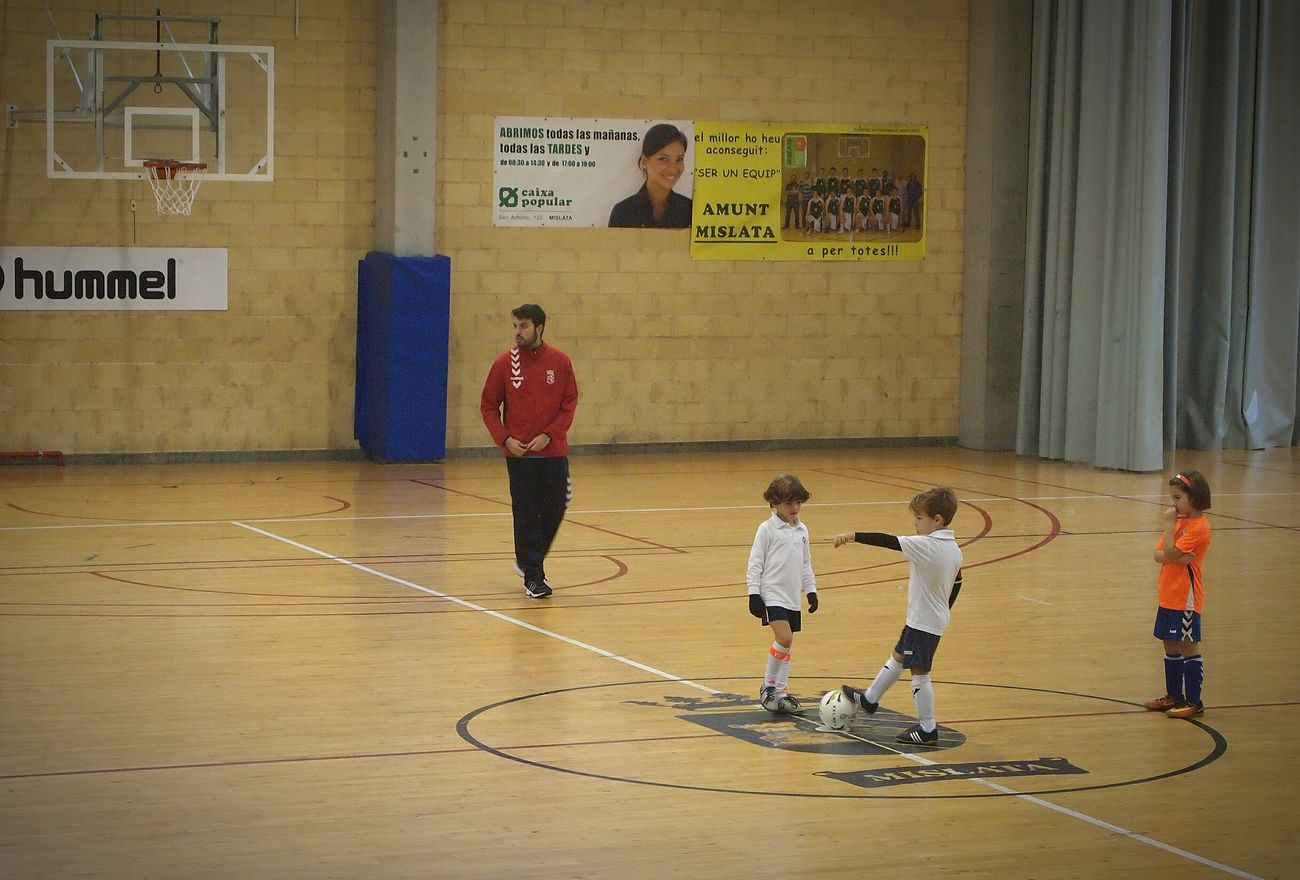 My Year My View Sport Playing Child Athlete Indoors  Court Football Soccer E-pl1 Full Length Valencia, Spain