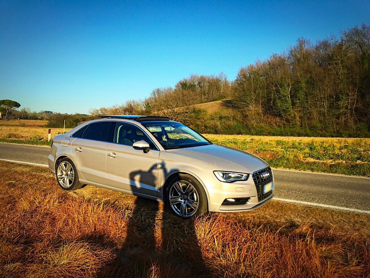 My Car & My Love ; Blu Sky Nature Landscape Sunlight Audi