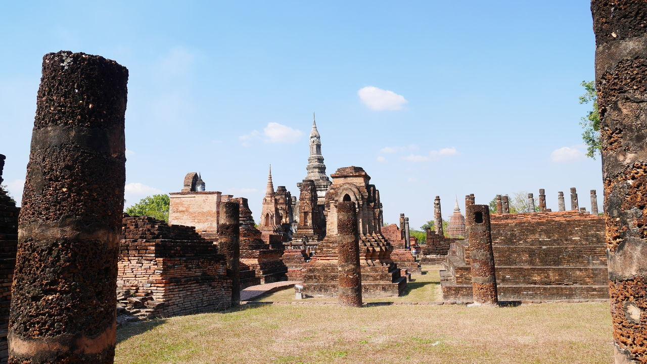 Buddha Buddhist Temple Sukhothai Sukhothaihistoricalpark Temple Thailand ThaiTemple