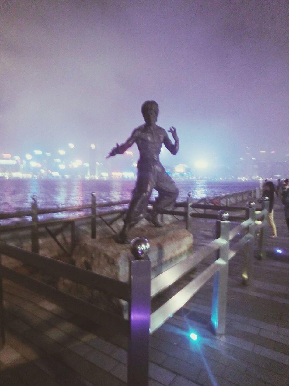 香港自由行 星光大道 幻彩詠春江 The First Trip 尖東站