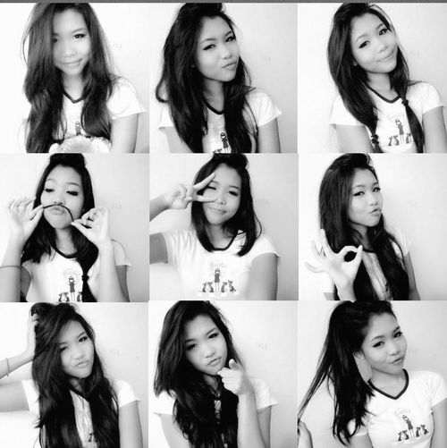 Making Faces Sily Faces Taking Photos Thatss Mee ❤
