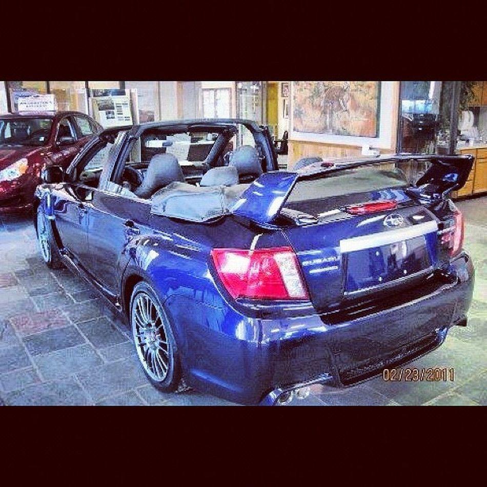 Awesome ???? Subaru Wrx STI Openroof