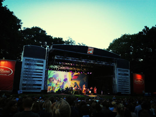 Awesome performance at Stadtpark Open Air by Heike