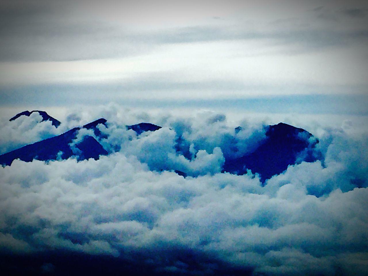 Mointains Clouds Mount Apo Mindanao Philippines