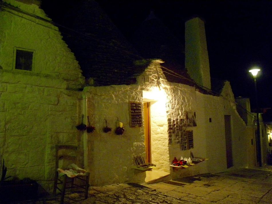 Alberobello Alberobello - Puglia Alberobello City Alberobellocity Alberobelloexperience Alberobellophotocontest Architecture Building Exterior Built Structure Illuminated Night No People Outdoors