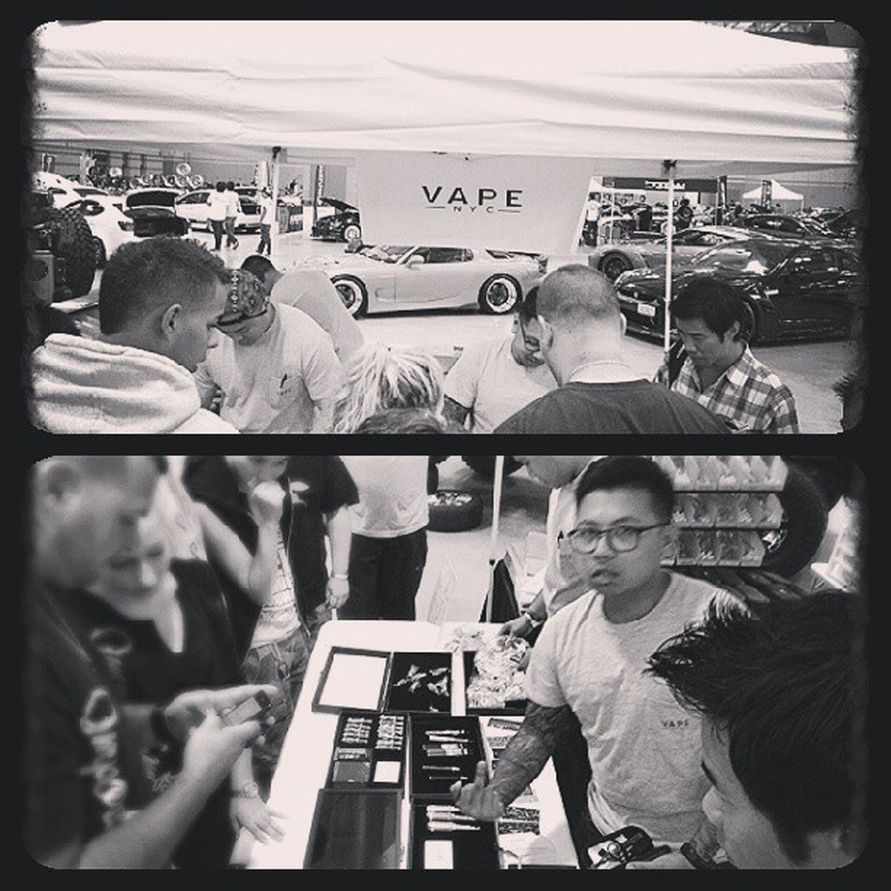 Big shout out to @vapenyc for showing love yesterday at @importexpo make sure to follow them for all your vaping needs. They got everything you need with great prices and some of the best customer service you will ever get. Just watch out for @varick he will follow you home. Haha j/k press that green button ASAP Nycalive Vapenyc Vape Vaping clouds importexpo atlanticcity nyc middlefinger lol goodtimes goodpeople