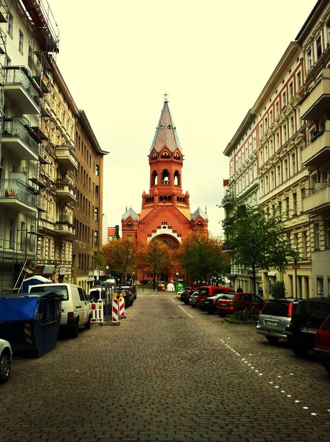 Church Passionskirche Walking Around Street Photography