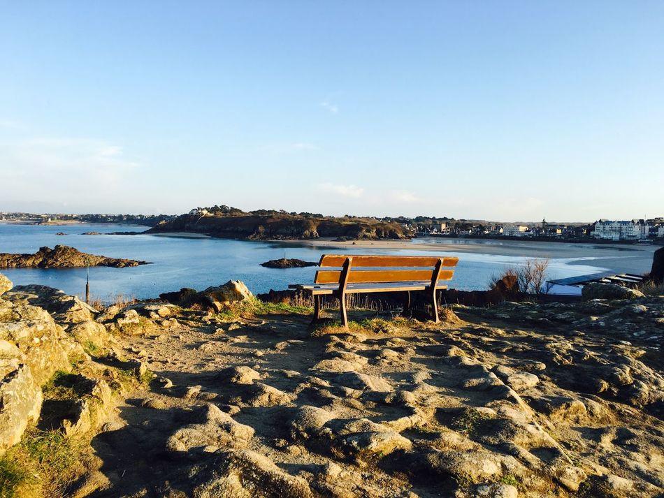 Day Tranquility Bretagne Sky Sea Nature Beach Tranquil Scene Scenics No People EyeEmNewHere