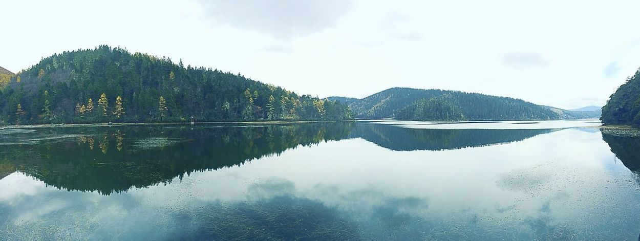Reflection Lake Water Tranquil Scene Symmetry Scenics Tranquility Nature Beauty In Nature Day Outdoors Sky No People Tree