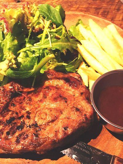 ローストポークプレート〜ブッチャーズ八百八〜 Meal Food Ready-to-eat Freshness Meat Roasted Close-up Gourmet Plate Roastpork Lunch Lunch Time!