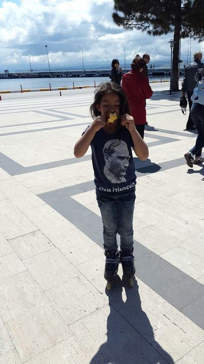 candied Apple 23 Nisan Sunny☀ Enjoying The Sun Childrenphoto