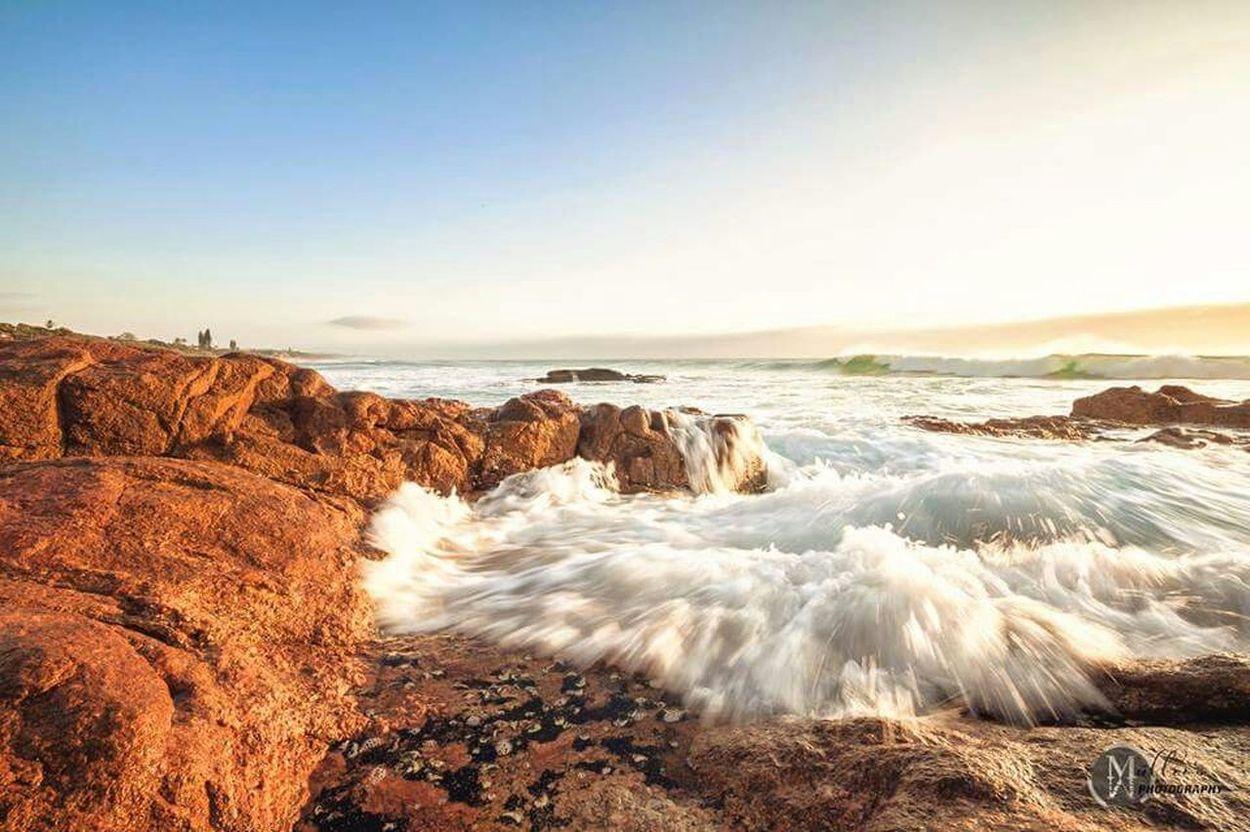 Seascape Rushingwater Rocks Sea
