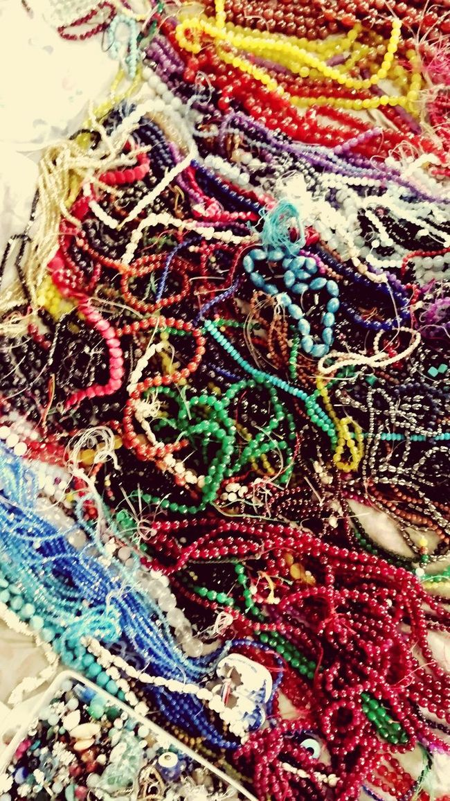 Rosery Rosary Holy Color Variation Multi Colored Large Group Of Objects Vibrant Color High Angle View Variation Multi Colored Choice Abundance Day Outdoors Colorful Retail  Vibrant Color No People Large Group Of Objects