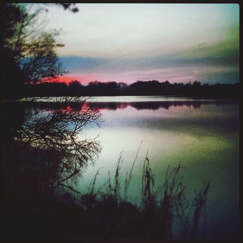 wunderschöner Abend und toller Sonnenuntergang beim Spazierengehen mit Schatz :) First Eyeem Photo Skyporn Clouds And Sky