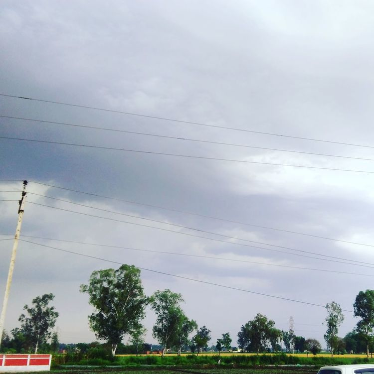 Nature Sky Cloud - Sky Picoftheday Freshness Cool Day Heart Touching  Naturelovers Green Nature Trees Peace