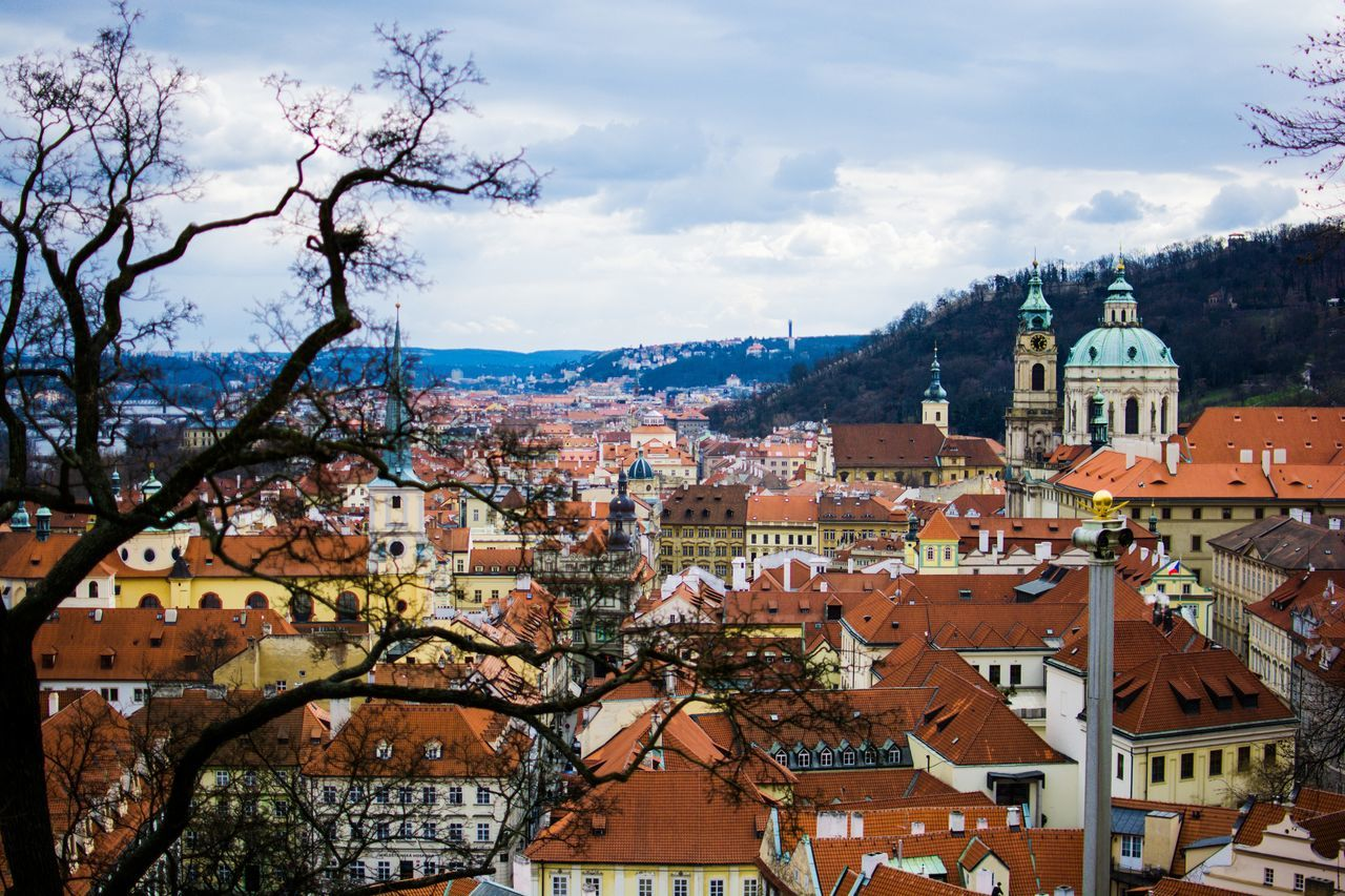 Beautiful stock photos of prague, Architecture, Beauty In Nature, Blue, Building Exterior
