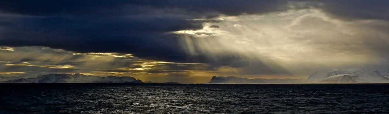 Coast in winter storm Atmospheric Mood Beauty In Nature Horizon Over Water Outdoors Power In Nature Scenics Sea Sky Water