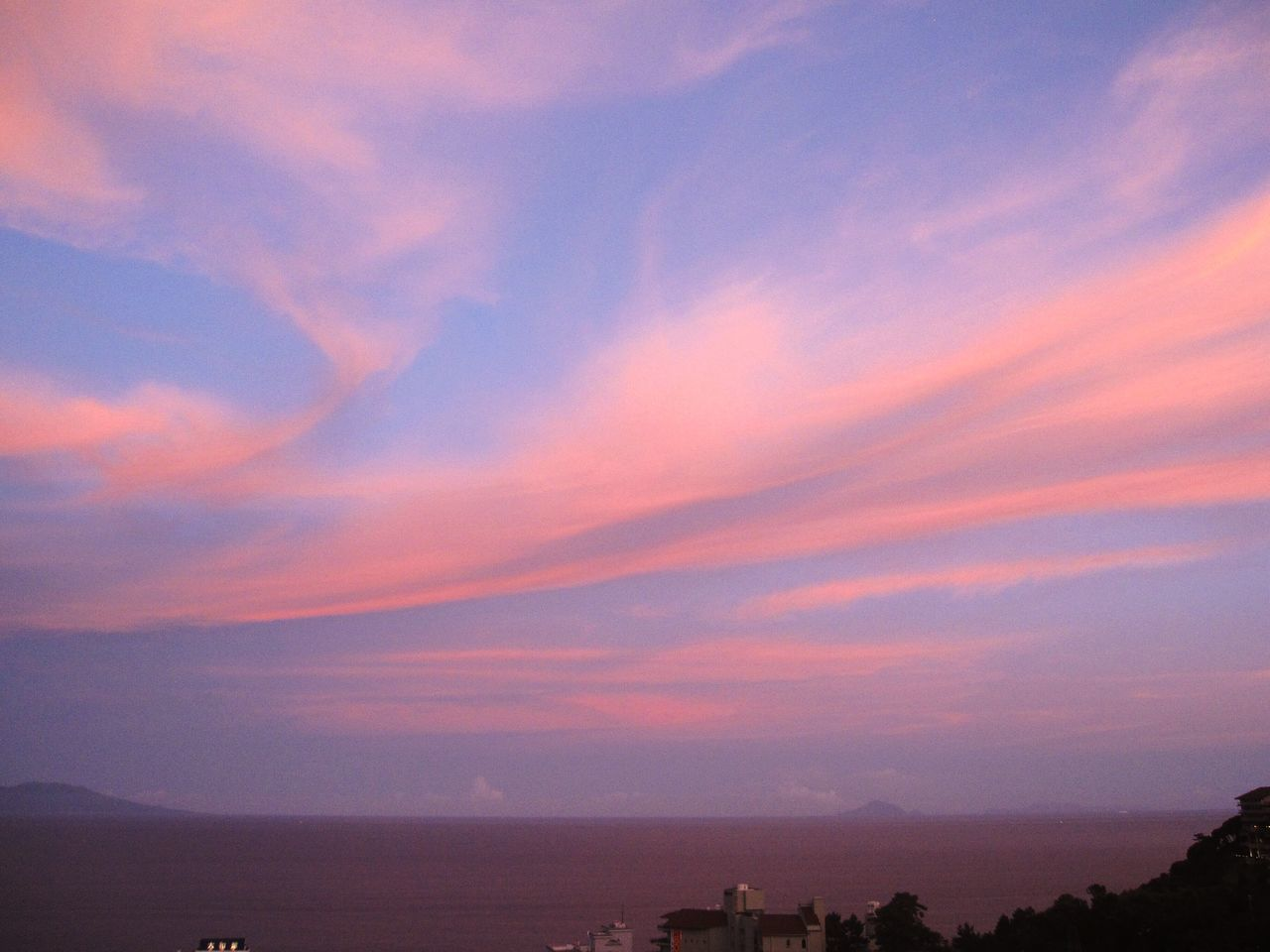 熱川 日本 Japan Sunset Scenics Sky Beauty In Nature Nature Tranquility No People Tranquil Scene Outdoors Cloud - Sky Landscape Mountain Day