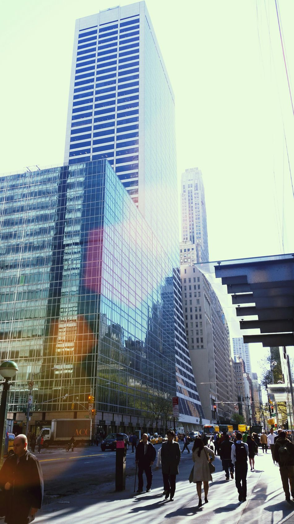Enjoying The Sun NYC NYC Photography Grace Building