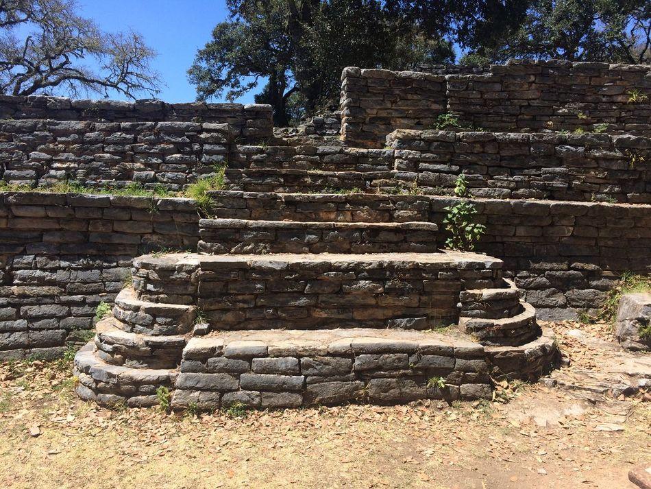 Ancient Civilization Ranas Sierra Gorda, Queretaro Ruins