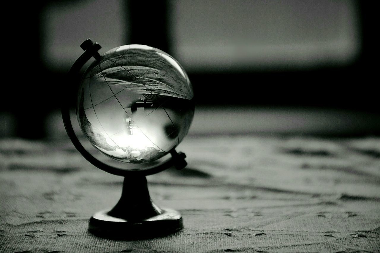 Beautiful stock photos of globe of earth, Crystal, Earth, Focus On Foreground, Globe - Man Made Object