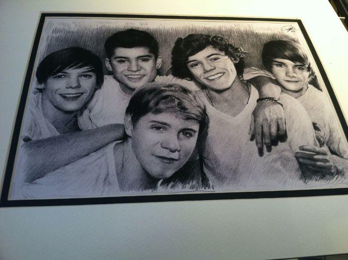Amazing drawig of the boyss love themm❤