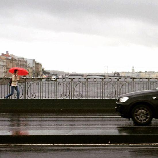 Дождит Питер Дождь петропавловскаякрепость Cloudy Velo Water River Neva City Троицкиймост