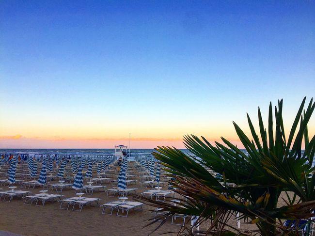 S U N S E T #colours #Jesolo #Jesolobeach #sun #venedig #VENEZIA #Venice Beach Beauty In Nature Blue Clear Sky Day Horizon Over Water Nature No People Outdoors Sea Sky Sunset Tranquil Scene Tranquility Water