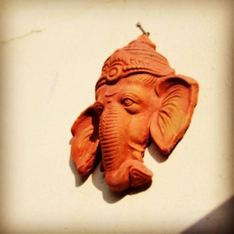 God India Ganesha Wallmount