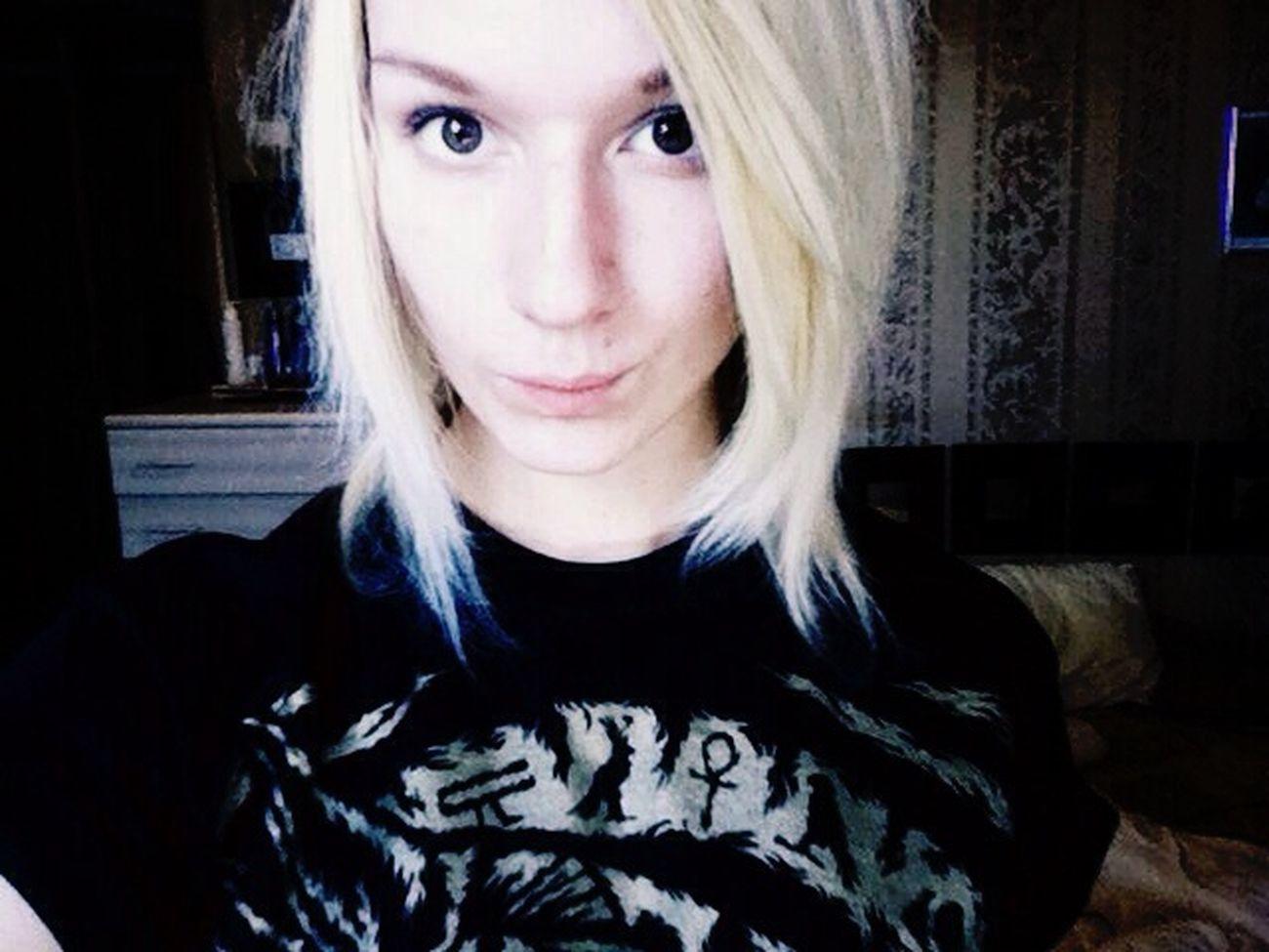 Blond Hair Pretty Selfie Cute Stupid Girl Me LOL