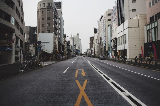 Wrong Way Wrong Direction Turn Around Japan Tokyo Streetphotography Empty Road Tokyo,Japan Street Photography Ultimate Japan