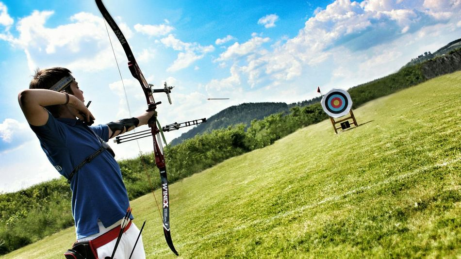Beautiful stock photos of target, 12-13 Years, Accuracy, Aiming, Archery