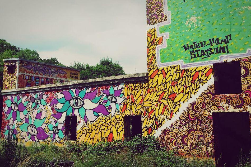 Building Buildings Abandoned Abandoned Buildings Colorful Graffiti Amazing Amazing View Abrau-Durso AbrauDurso Russia First Eyeem Photo