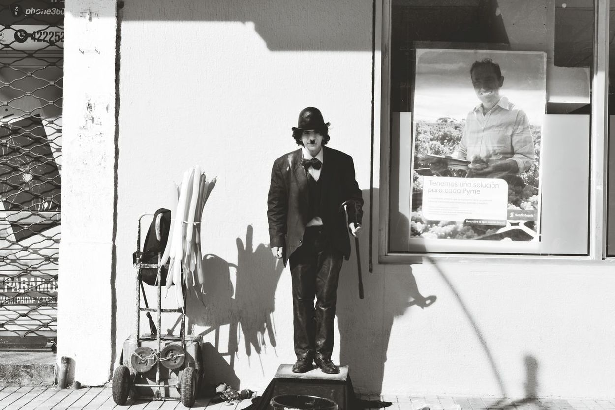 Artistic Expression Saturday Evening Casual Day Blackandwhite Photography Chaplin Expressive
