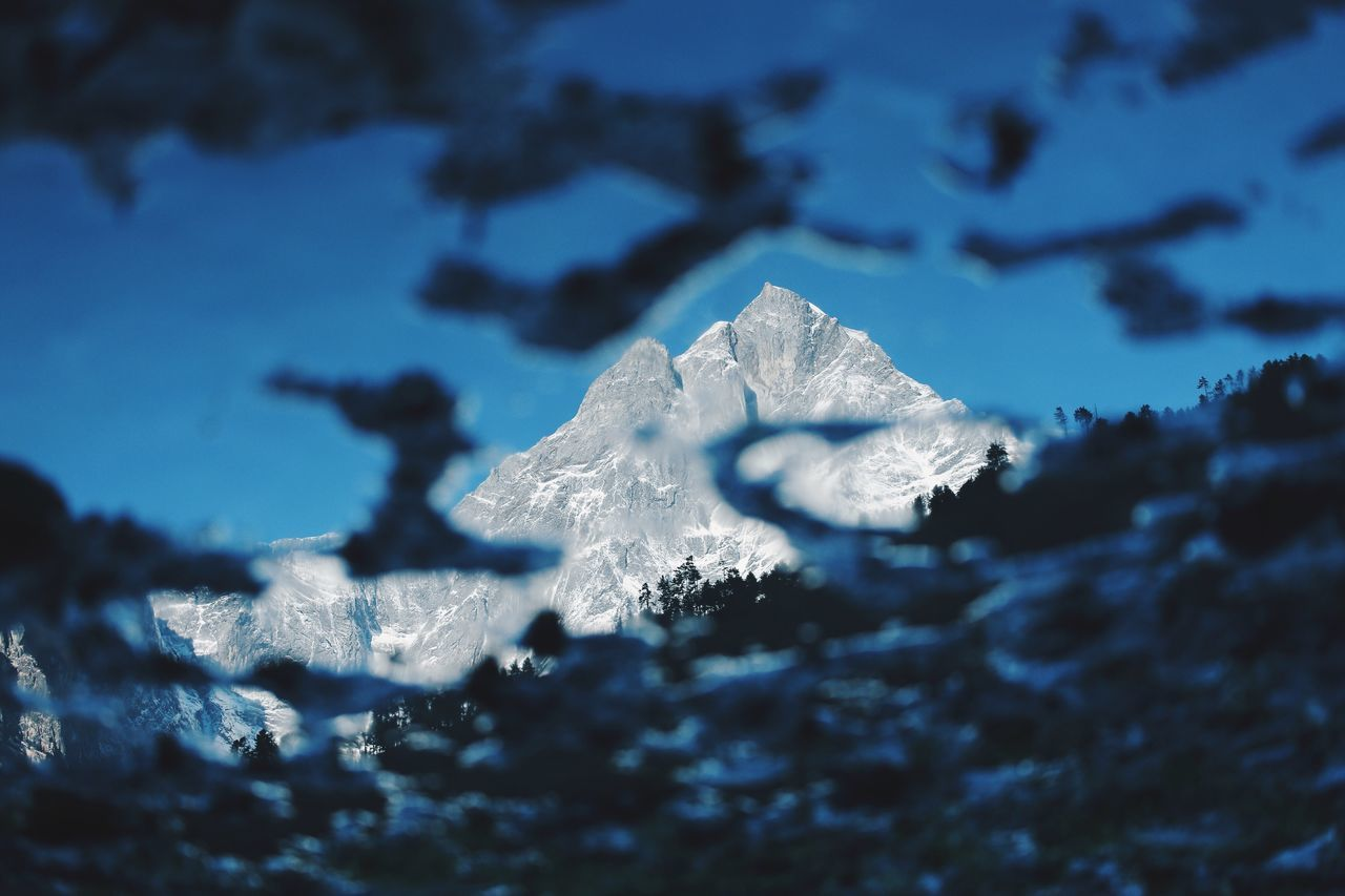 The Great Outdoors - 2016 EyeEm Awards The reflection of the mountain