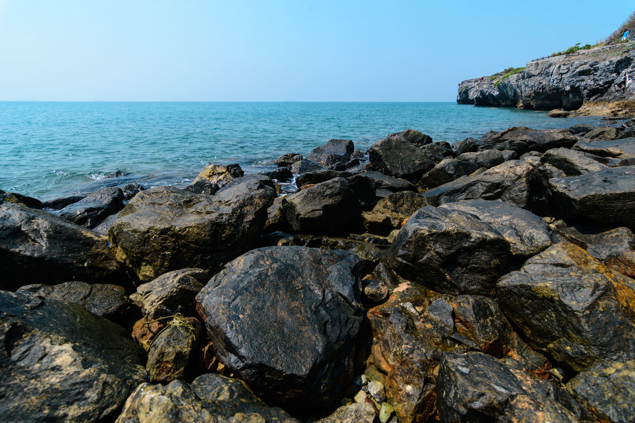 Backgrounds Bay Beach Beach Day Beach Time✌ Beachphotography Beauty In Nature Coast Coastline Holiday Is Rock Rock And Sea Sea And Sky Seascape Seaside Thailand Vacation Wave