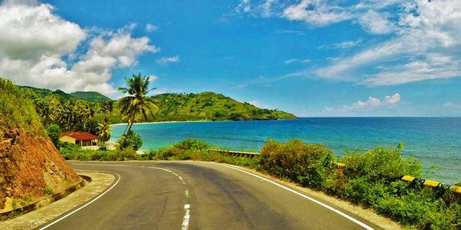Lombok Lombok Island Lombok-Indonesia INDONESIA Indonesia_photography Street Beach Coastline Coastroad Palmtree Palmtreeporn