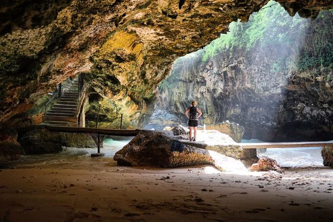 Cave Perspective Person Geology Cliffs Adventures Exploring Sunrays Rock Formation View Mypointofview Nature Nature_collection