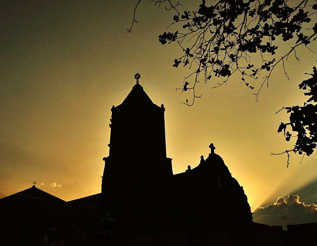 Eyeemphotography EyeemPhilippines Lenten2016 Church Silouette And Shadows Belltower
