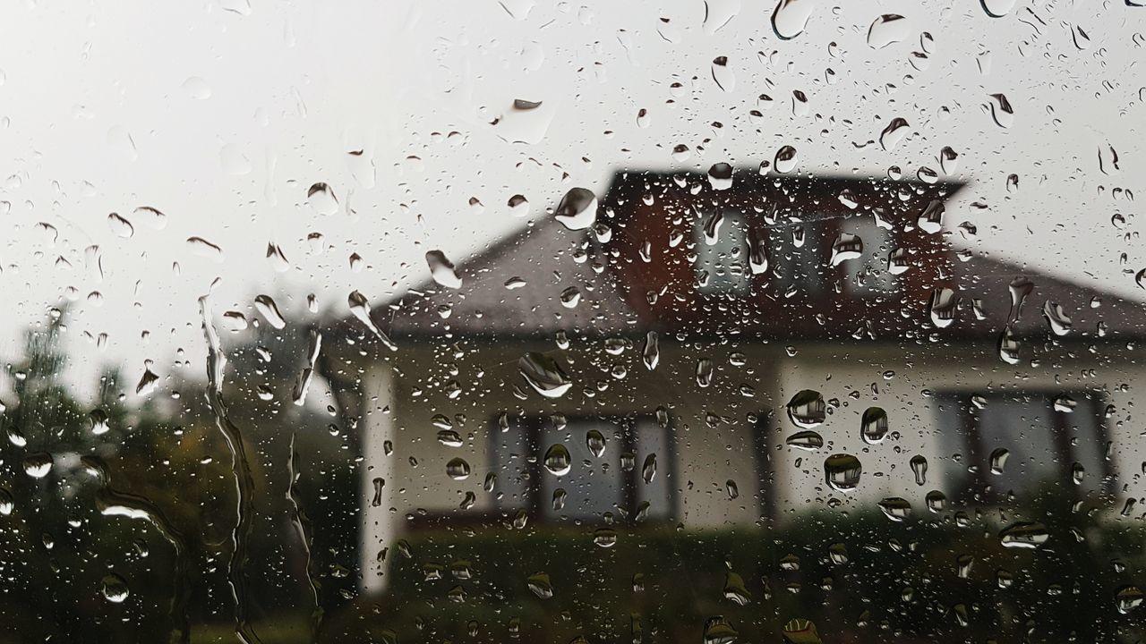 EyeEm Selects House Rain Rainy Days Raindrops Window